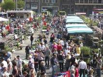 On a Dutch  flower market Stock Image