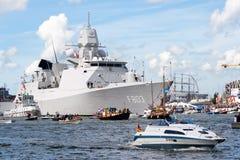 Dutch frigate Royalty Free Stock Image