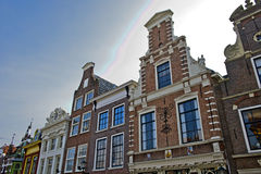 Dutch Gablefront houses Royalty Free Stock Photography