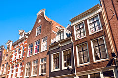 Dutch gables, Amsterdam Stock Image