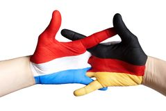 Dutch german relation Royalty Free Stock Images