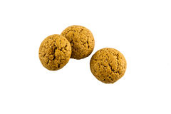 Dutch ginger cookies called pepernoten Stock Photo