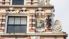 Dutch govenrmental building in Renaissance style Stock Photography