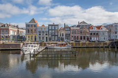 Dutch Harbor Homes Stock Photo