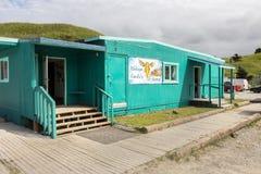 The Amelia Restaurant at Unilaska. stock image