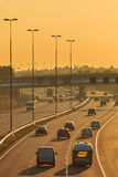 Dutch highway in the afternoon Royalty Free Stock Photography