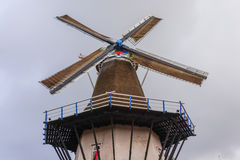 Dutch Historic Windmill Stock Photography