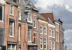 Dutch Historical Houses Royalty Free Stock Photography