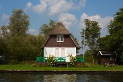 Dutch holiday home stock image