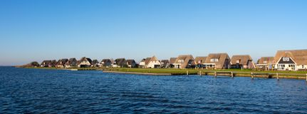 Dutch holiday homes stock photo