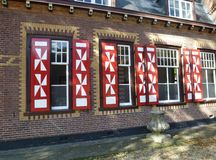 Dutch house Royalty Free Stock Images