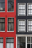 Dutch house in Amsterdam Royalty Free Stock Photo