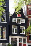 Dutch house in Amsterdam Royalty Free Stock Photography
