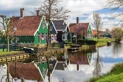 Village in Zaanse Schans, The Netherlands Stock Photography