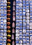 Dutch house fridge mangets for sale. Stock Photography