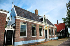 Dutch House Front Stock Photo