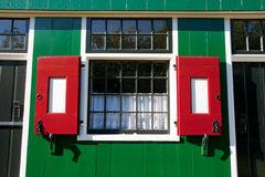 Dutch house window Royalty Free Stock Photography