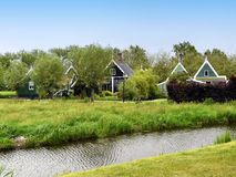 Dutch houses Royalty Free Stock Images