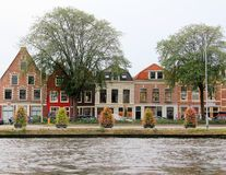 Dutch houses Royalty Free Stock Photography