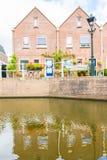 Dutch houses in Alkmaar Royalty Free Stock Image