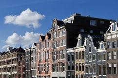 Dutch houses, Canal, Amsterdam, Netherlands Stock Photo
