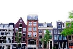 Dutch houses Stock Photography