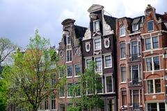 3 dutch houses Stock Photography