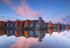 Dutch houses Stock Photo