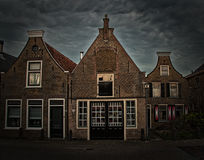 Dutch Houses Schipluiden the Netherlands Stock Photos