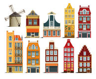 Dutch houses Stock Photography