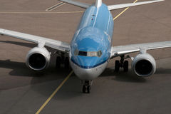 Dutch Klm airplane Stock Image