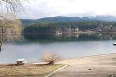 Dutch Lake BC. Dutch Lake Near Clearwater BC Stock Photo