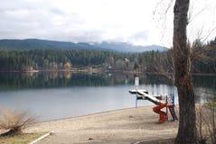 Dutch Lake BC. Dutch Lake Near Clearwater BC Stock Photos