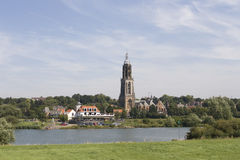 Dutch landscape Royalty Free Stock Photo