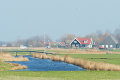 Dutch landscape Royalty Free Stock Images