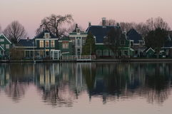 Dutch landscape. Dutch landschape Zaanse Schans Stock Images