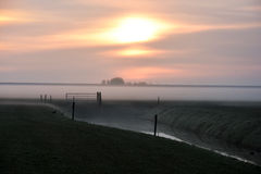 Dutch landscape Royalty Free Stock Photos