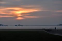Dutch landscape Royalty Free Stock Image