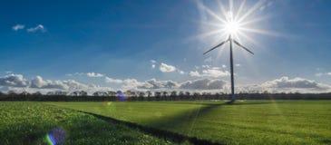 Dutch combining energy Stock Image