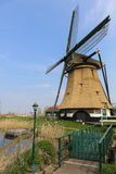 Dutch landscape with a windmill Royalty Free Stock Photography