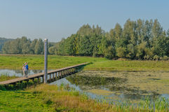 Dutch Landscapes - De Blauwe Kamer - Gelderland Royalty Free Stock Images