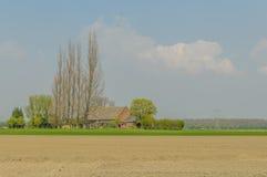 Dutch Landscapes - Heinkenszand - Zeeland Stock Photo