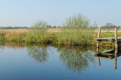 Dutch Landscapes - Lutjegast - Groningen Royalty Free Stock Images