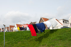 Dutch laundry Royalty Free Stock Images