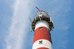 Dutch Lighthouse of Ameland Stock Photo