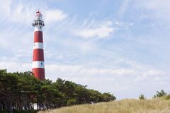 Dutch Lighthouse of Ameland Royalty Free Stock Photo