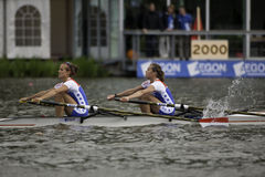 Dutch Lightweight Women's Double Stock Image