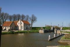Dutch lock Royalty Free Stock Photography