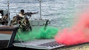 Dutch marines Stock Image