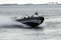 Dutch Marines speedboat Royalty Free Stock Photos
